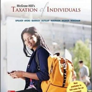 Test Bank Mcgraw-Hill'S Taxation Of Individuals 6E Spilker