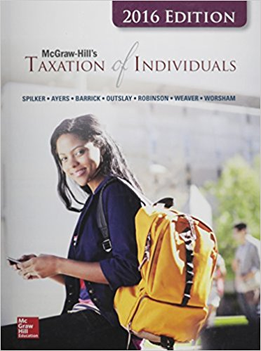 Solution manual Mcgraw-Hill'S Taxation Of Individuals 7E Spilker