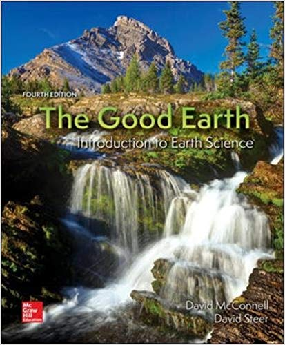 Test Bank The Good Earth Introduction To Earth Science 4E Mcconnell