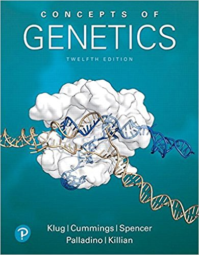 Test Bank Concepts Of Genetics 12E Klug