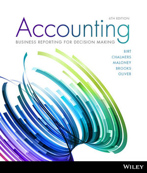 Test bank for Accounting: Business Reporting for Decision Making 6th Edition by Birt