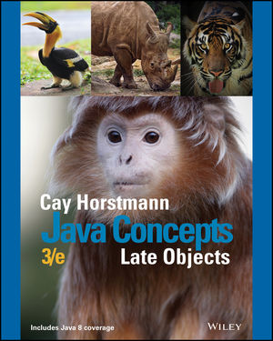 Test bank for Java Concepts: Late Objects 3rd Edition by Horstmann