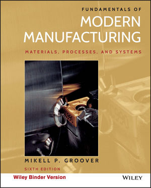 Solution manual for Fundamentals of Modern Manufacturing: Materials