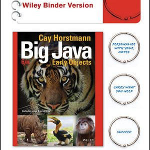 Test bank for Big Java: Early Objects 6th Edition by Horstmann