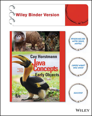 Test bank for Java Concepts: Early Objects 8th Edition by Horstmann