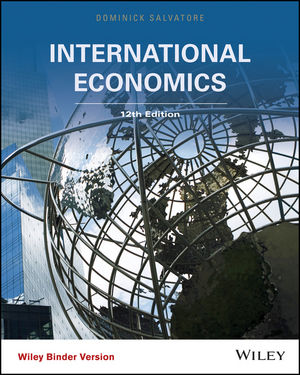 Test bank for International Economics 12th Edition by Salvatore