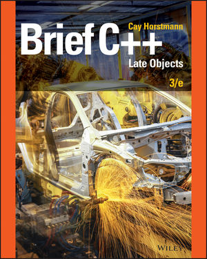 Test bank for Brief C++: Late Objects 3rd Edition by Horstmann