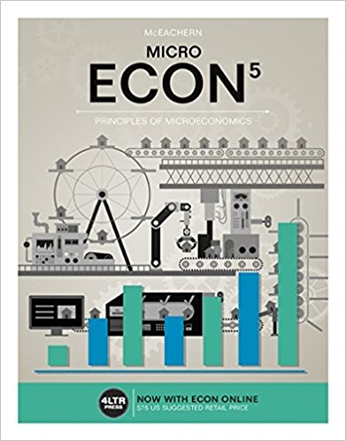 Solution manual for ECON MACRO 5th Edition by Mceachern