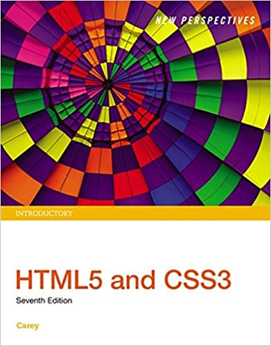 Test bank for New Perspectives HTML5 and CSS3: Introductory 7th Edition by Carey