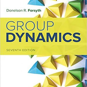 Test bank for Group Dynamics 7th Edition by Forsyth