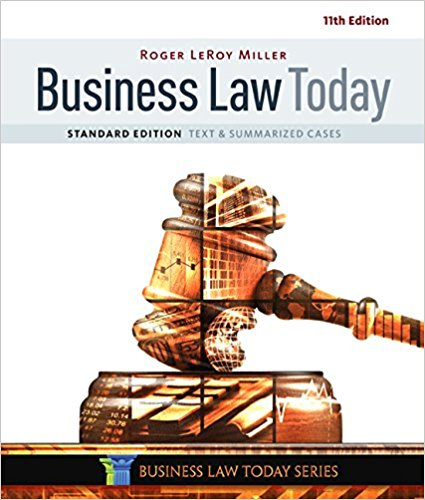 Solution manual for Business Law Today