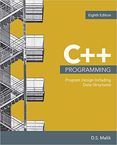 Solution manual for C++ Programming: Program Design Including Data Structures 8th Edition by Malik