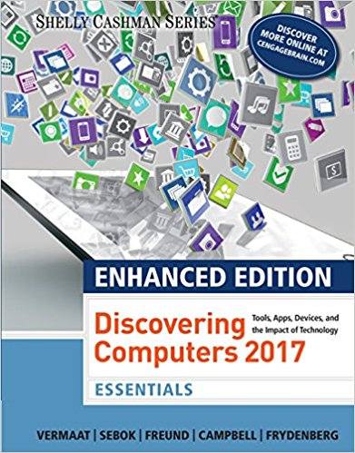 Solution manual for Enhanced Discovering Computers ©2017