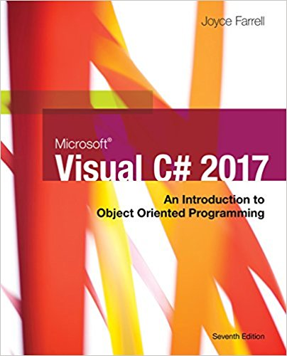 Test bank for Microsoft Visual C#: An Introduction to Object-Oriented Programming 7th Edition by Farrell