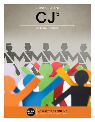 Solution manual for CJ 5th Edition by Gaines