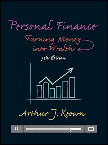 Test Bank Personal Finance Turning Money Into Wealth 7E Keown