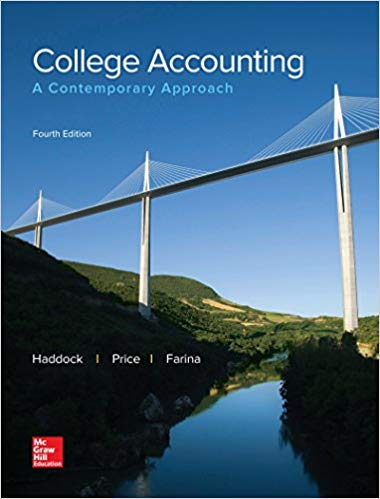 Solution manual College Accounting A Contemporary Approach 4E Haddock