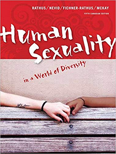 Solution manual Human Sexuality In A World Of Diversity 5E Rathus