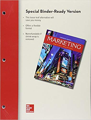 Solution manual Marketing 13E Kerin