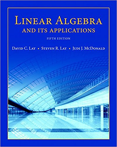 Test Bank Linear Algebra And Its Applications 5E Lay