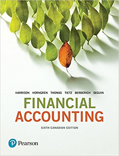 Solution manual Financial Accounting 6E Harrison