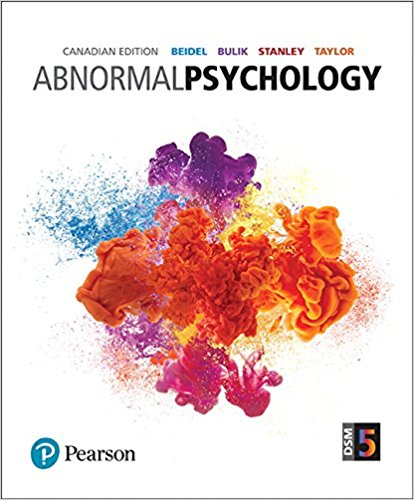 Test Bank Abnormal Psychology 1E Beidel