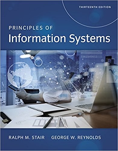 Solution manual Principles Of Information Systems 13E Stair