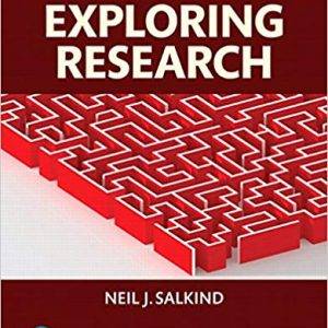 Solution manual Exploring Research 9E Salkind