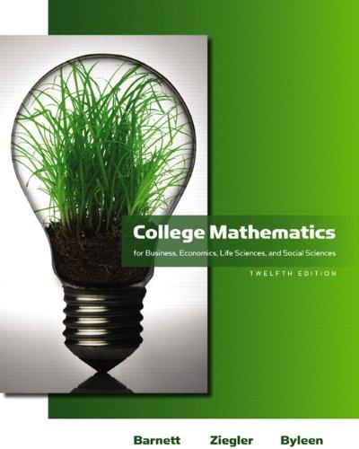 Solution manual College Mathematics For Business