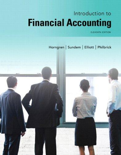 Solution manual Introduction To Financial Accounting 11E Horngren