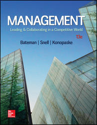 Solution manual Management Leading & Collaborating In A Competitive World 13E Konopaske