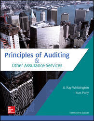 Solution manual Principles Of Auditing & Other Assurance Services 21E Whittington