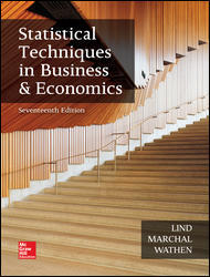 Solution manual Statistical Techniques In Business And Economics 17E Lind