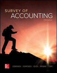 Solution manual Survey Of Accounting 5E Edmonds