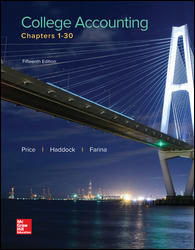 Test Bank College Accounting Chapters 1-30 15E Price
