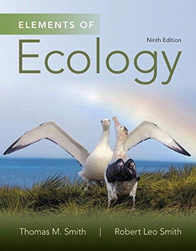 Test Bank Elements Of Ecology 9E Smith