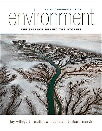 Test Bank Environment The Science Behind The Stories 3E Withgott