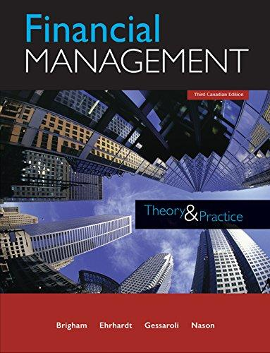 Test Bank Financial Management Theory And Practice 3E Brigham