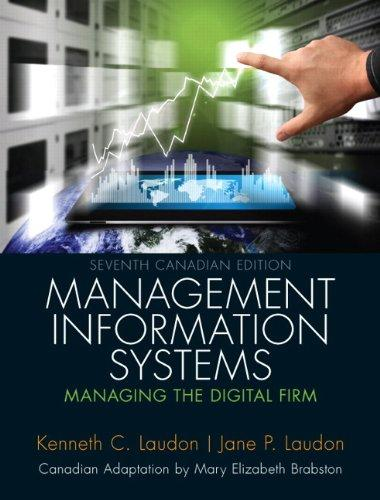 Test Bank Management Information Systems Managing The Digital Firm 7E Laudon