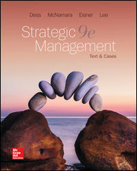 Test Bank Strategic Management Text And Cases 9E Dess