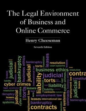 Test Bank The Legal Environment Of Business And Online Commerce 7E Cheeseman