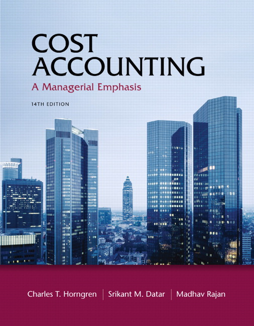 Test Bank (Complete Download) for   Cost Accounting