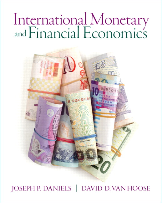 Test Bank (Complete Download) for   International Monetary & Financial Economics