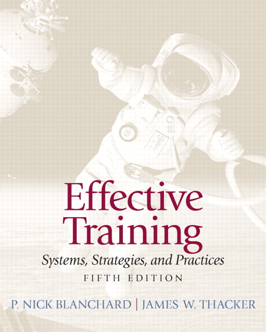 Test Bank (Complete Download) for   Effective Training