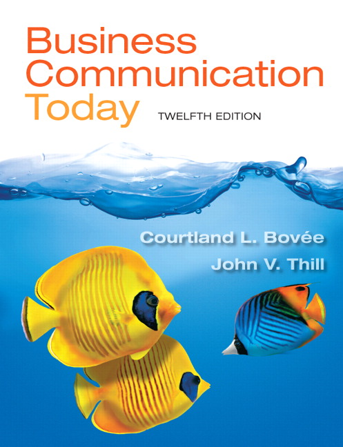 Test Bank (Complete Download) for   Business Communication Today
