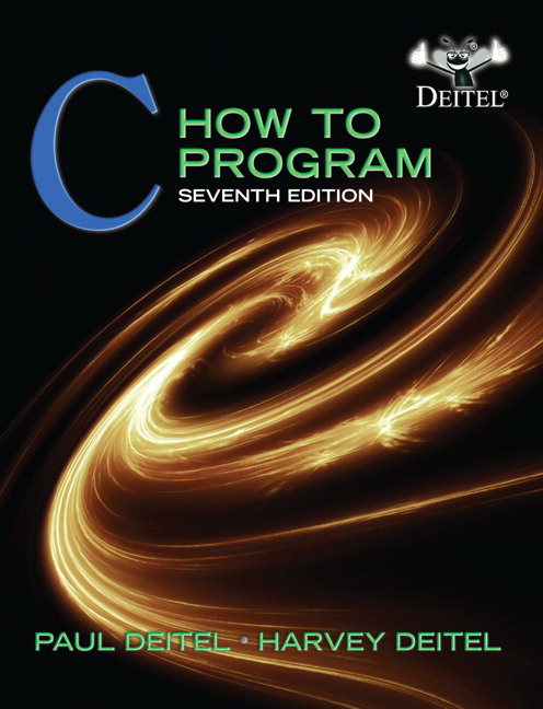 Test Bank (Complete Download) for   C How to Program