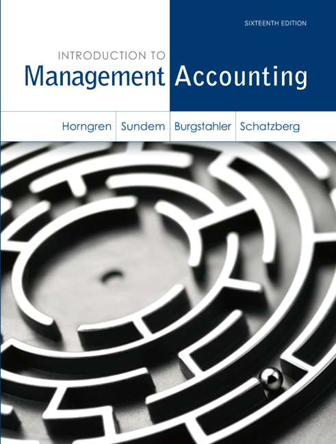Test Bank (Complete Download) for   Introduction to Management Accounting