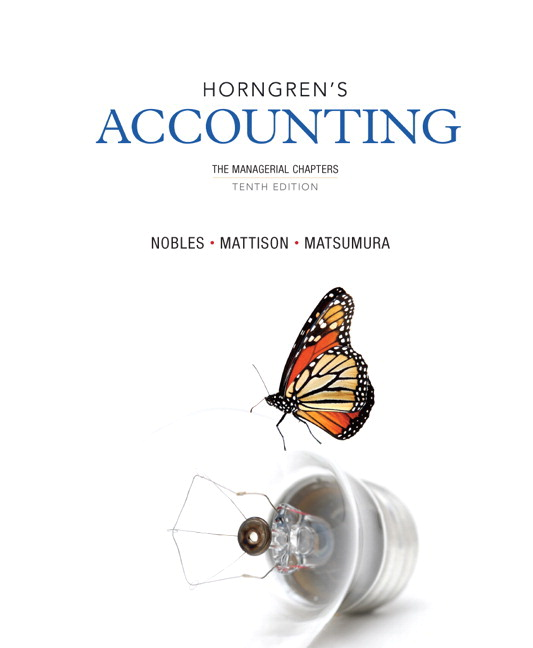 Test Bank (Complete Download) for   Horngren's Accounting
