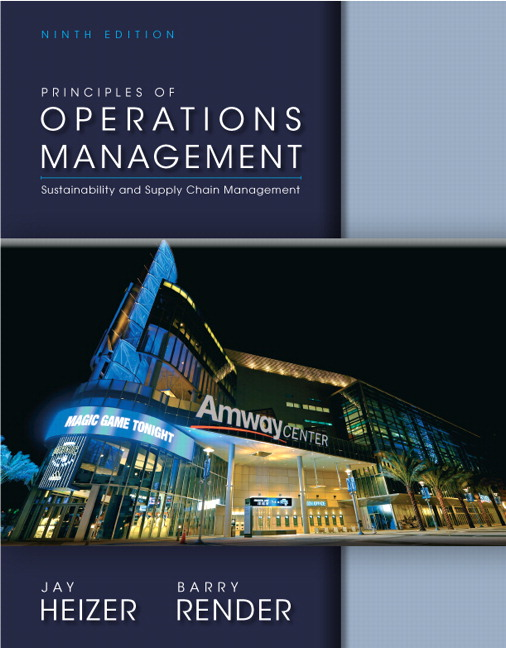 Test Bank (Complete Download) for   Principles of Operations Management