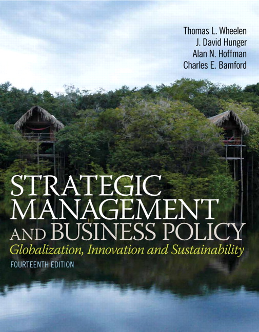 Test Bank (Complete Download) for   Strategic Management and Business Policy: Globalization